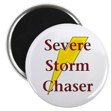 "Severe Storm Chaser 2.25"" Magnet (10 pack)"