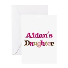 Aidan's Daughter Greeting Card