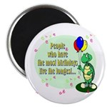 Turtle Birthday Magnet