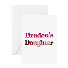 Braden's Daughter Greeting Card