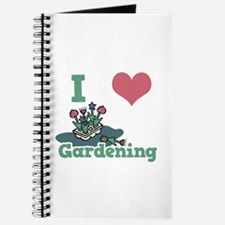 I Love (Heart) Gardening Journal