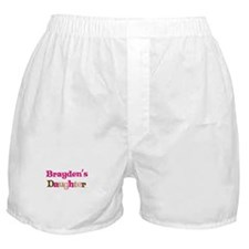 Brayden's Daughter Boxer Shorts