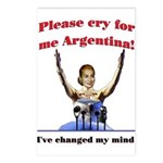 Cry for me Argentina! (I've c Postcards (Package o