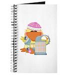 Garden Time Baby Girl Ducky Duck Journal