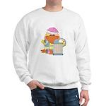 Garden Time Baby Girl Ducky Duck Sweatshirt