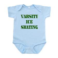 Varsity Ice Skating Infant Creeper
