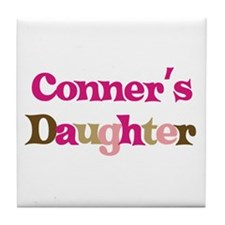 Conner's Daughter Tile Coaster