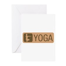 POWER YOGA Greeting Cards (Pk of 20)