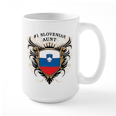 Number One Slovenian Aunt Large Mug