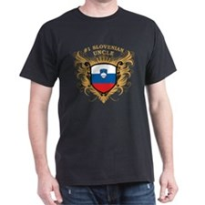 Number One Slovenian Uncle T-Shirt