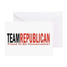 Team Republican - Proud To Be Greeting Card