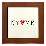 NY hearts ME (TM) Framed Tile