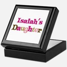 Isaiah's Daughter Keepsake Box