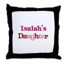Isaiah's Daughter Throw Pillow
