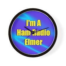Ham Radio Elmer Wall Clock