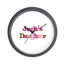 Jack's Daughter Wall Clock