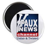 "Faux News 2.25"" Magnet (10 pack)"
