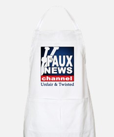 Faux News BBQ Apron