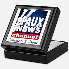 Faux News Keepsake Box