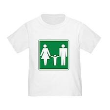 Restroom Family Sign T