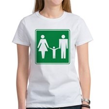 Restroom Family Sign Tee