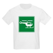 Helicopter Sign T-Shirt