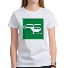 Helicopter Sign Tee
