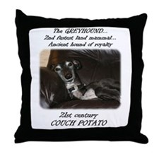 21st Century Couch Potato Throw Pillow