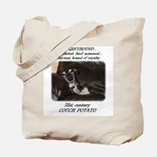 21st Century Couch Potato Tote Bag