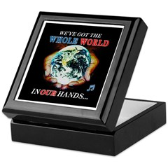 Witty Environmental Quote Keepsake Box