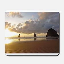 Cannon Beach, Oregon Sunset Mousepad