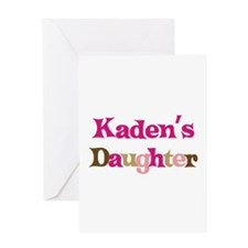 Kaden's Daughter Greeting Card