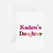 Kaden's Daughter Greeting Card