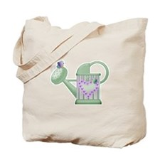 Butteryfly & Watering Can Tote Bag