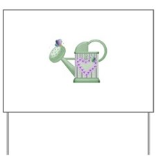 Butteryfly & Watering Can Yard Sign