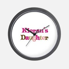 Kieran's Daughter Wall Clock