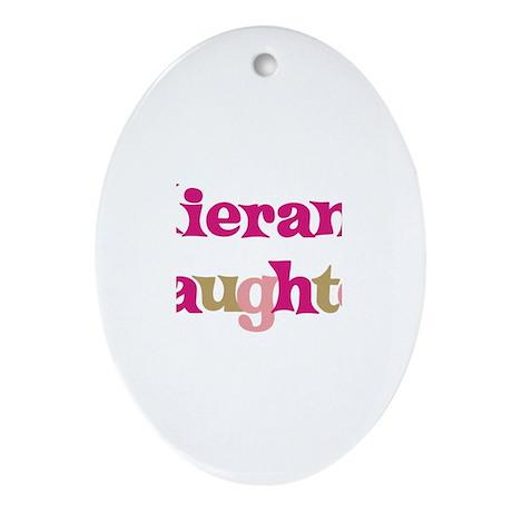 Kieran's Daughter Oval Ornament