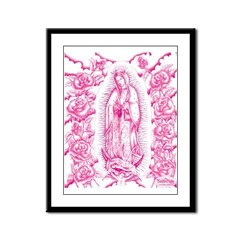 Adans Rose Virgin Framed Panel Print
