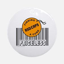 RSD/CRPS FINDING A CURE Ornament (Round)