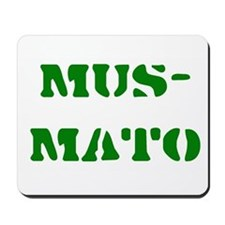 Esperanto Labels Mousepad