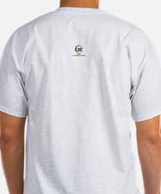 Intl. Canhardly Asso. Ash Grey T-Shirt