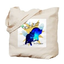 Cat Reiki Master Tote Bag