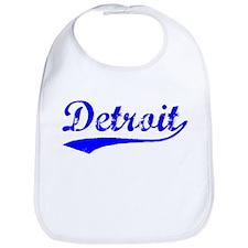 Vintage Detroit (Blue) Bib