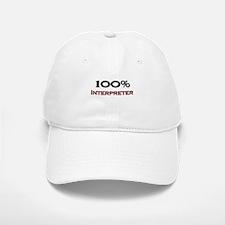 100 Percent Interpreter Baseball Baseball Cap