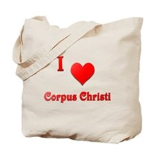 I Love Corpus Christi #21 Tote Bag