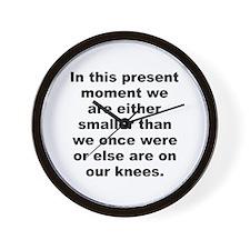 Alan moore quotes Wall Clock