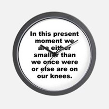 Funny Alan moore quotes Wall Clock