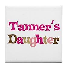 Tanner's Daughter Tile Coaster