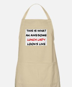awesome lunch lady Light Apron