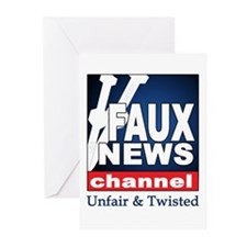 FAUX NEWS Greeting Cards (Pk of 10)